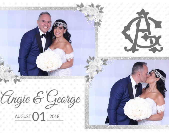 photo booth boda Angie & George
