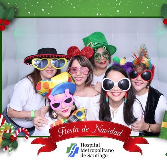 navidad photo booth republica dominicna hospital metropolitano de santiago