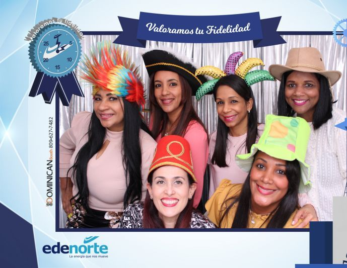 Premiación Edenorte photo booth