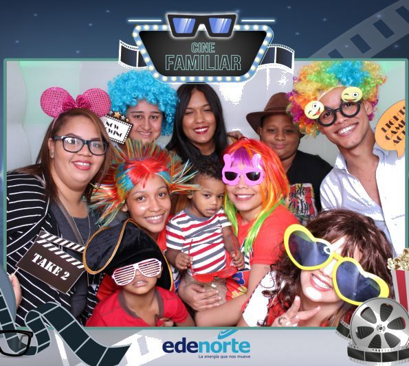 cine familiar edenorte photo booth