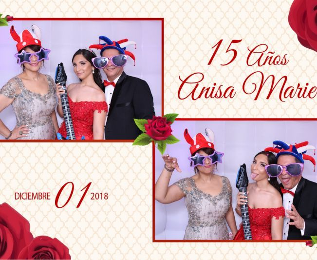 Cumpleaños Anisa Marie photo booth