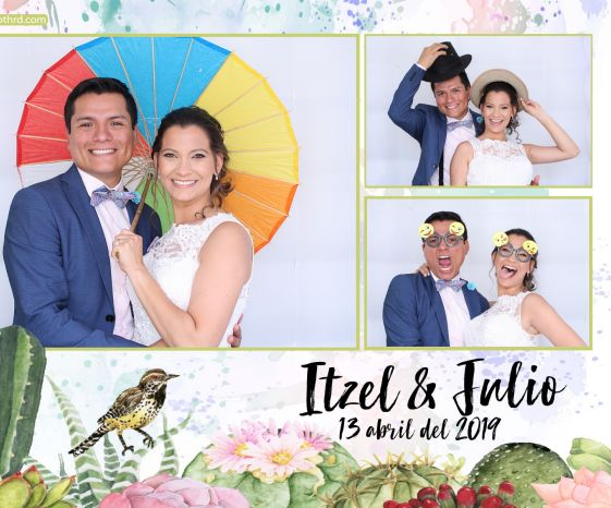 Photo booth Boda Itzel & Julio