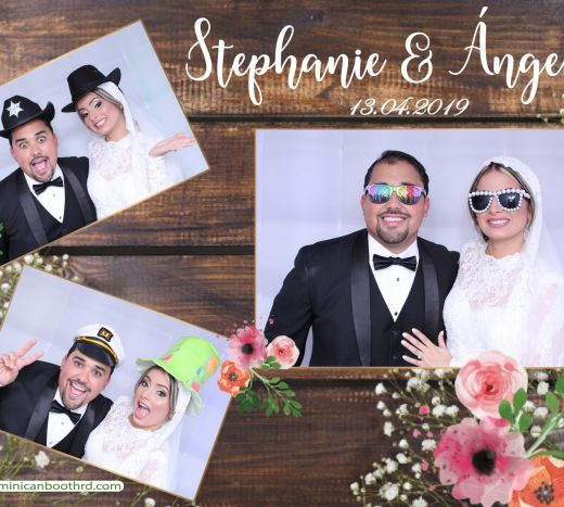 photo booth Stephanie & Angel