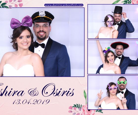 photo booth republica dominicana Tashira & Angel