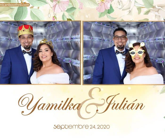Dominican Booth Republica dominicana yamilka y juan